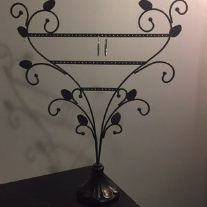 Jewelry - Earring stand/holder black